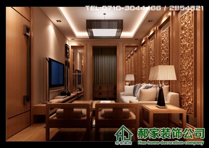 连山鼎府中式风格设计