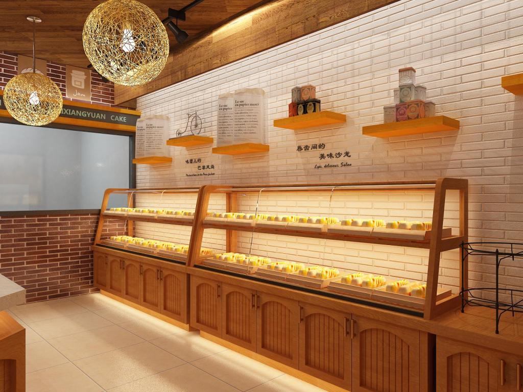 面包店店面设计需要考虑的细节有哪些_保驾护航装修网图片