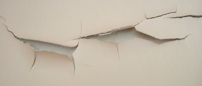 油漆如何覆盖开裂的墙体?