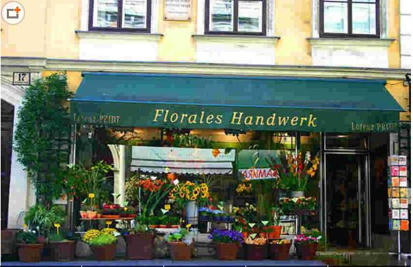 五款法式风格鲜花店门头装修图,感受法式的浪漫