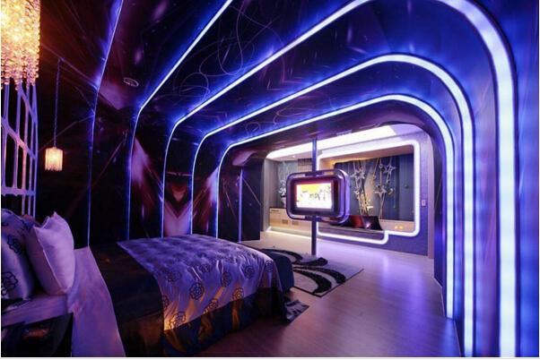 材料酒店电影吊顶灯光设计及灯光影响主题装修选择树藤吗图片