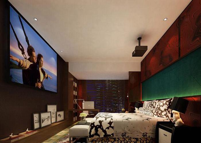 电影主题酒店装修灯光设计及材料选择