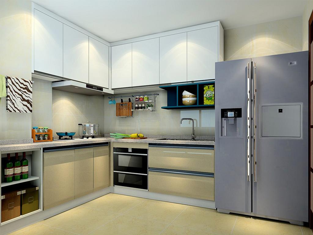 厨房装潢效果图