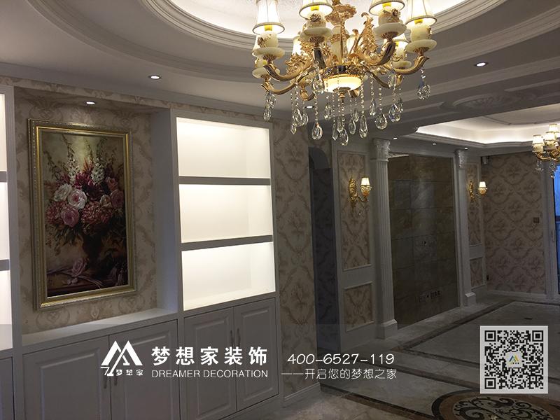 梦想家装饰-|南京香江豪庭146平方 施工报道