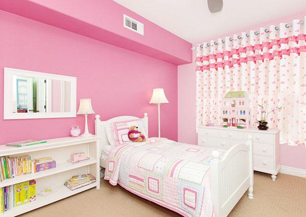 如果你家的小宝贝是为可爱漂亮的小公主,那这款儿童房屋设计是不