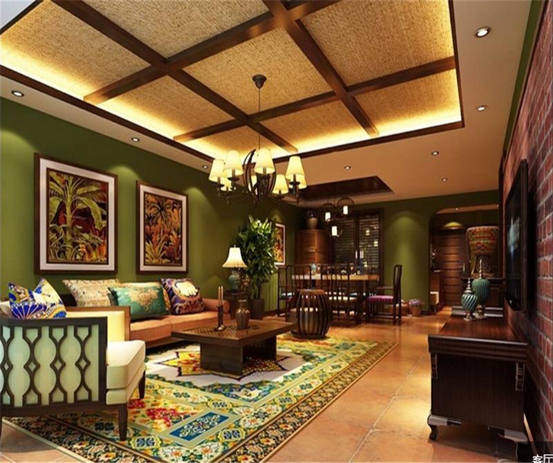 汤泉墅-东南亚风格