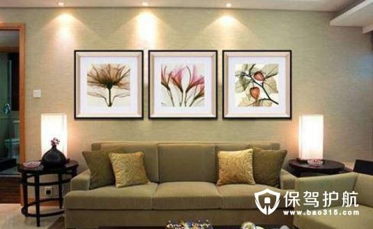 现代简约客厅装饰画有哪些特点?