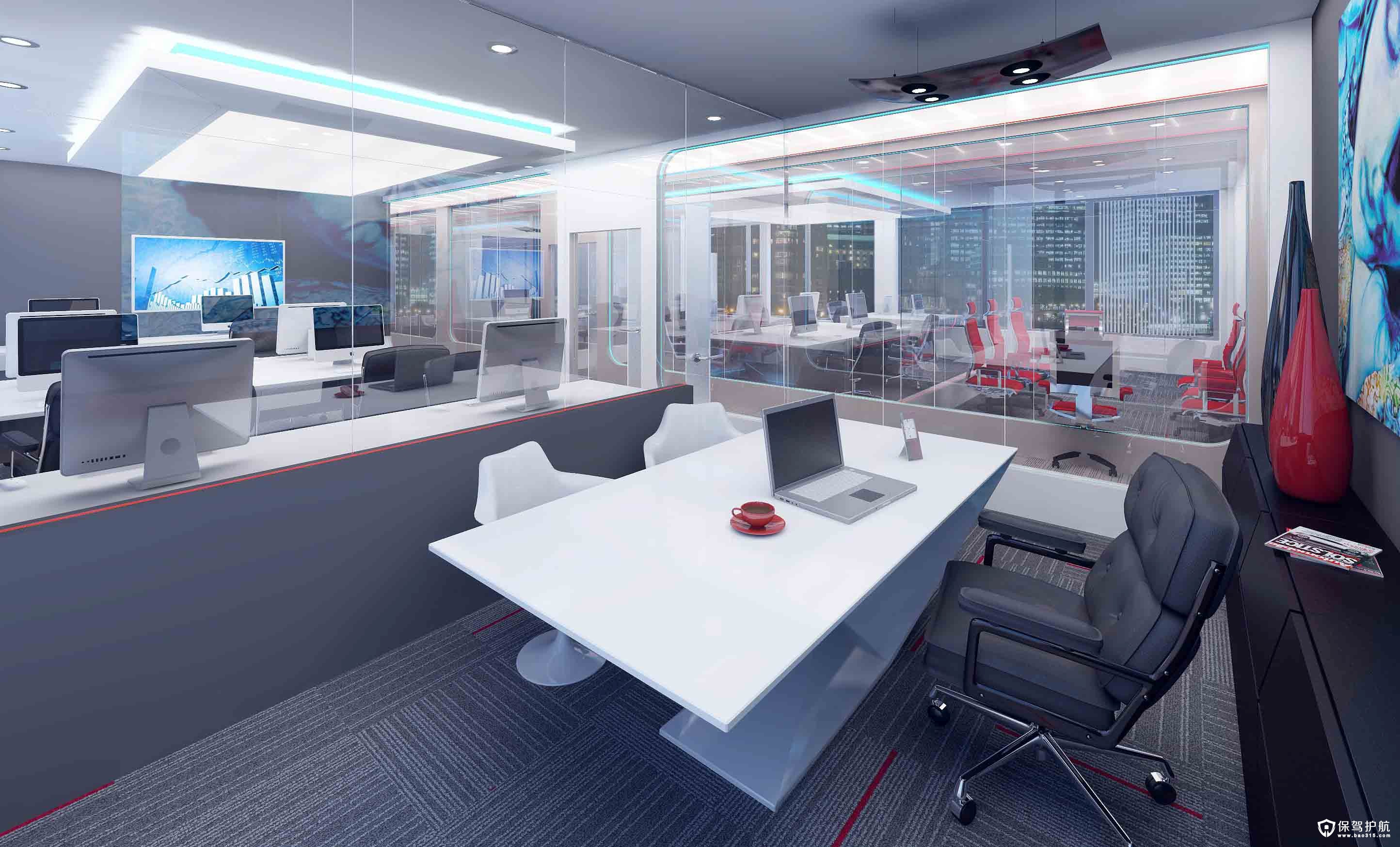 董事长办公室装修,清幽的办公环境!