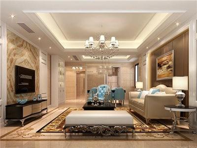 25万打造110平方欧式风格融侨观邸