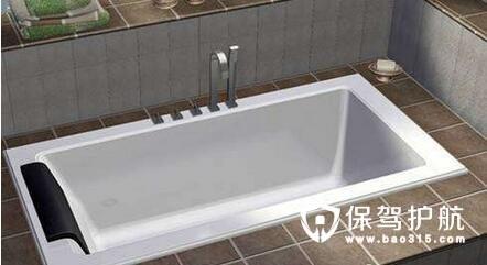 浴缸下水管安装步骤及维修方法