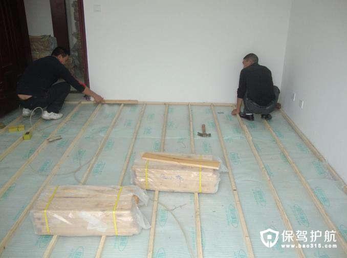 木地板如何安装 安装流程是什么
