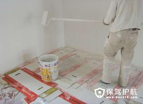 乳胶漆涂刷墙面为什么厚薄不均?