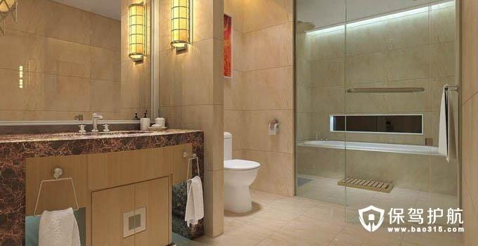 卫生间瓷砖的铺设设计