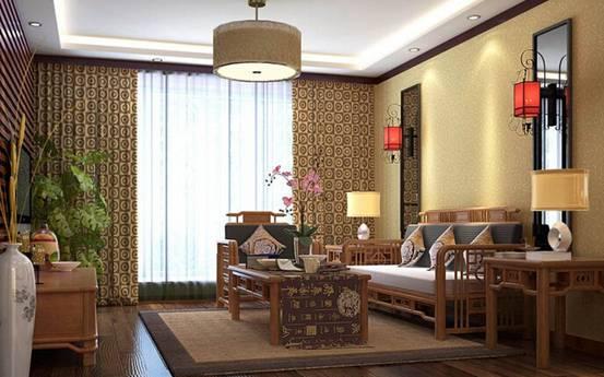 中式餐厅家具搭配