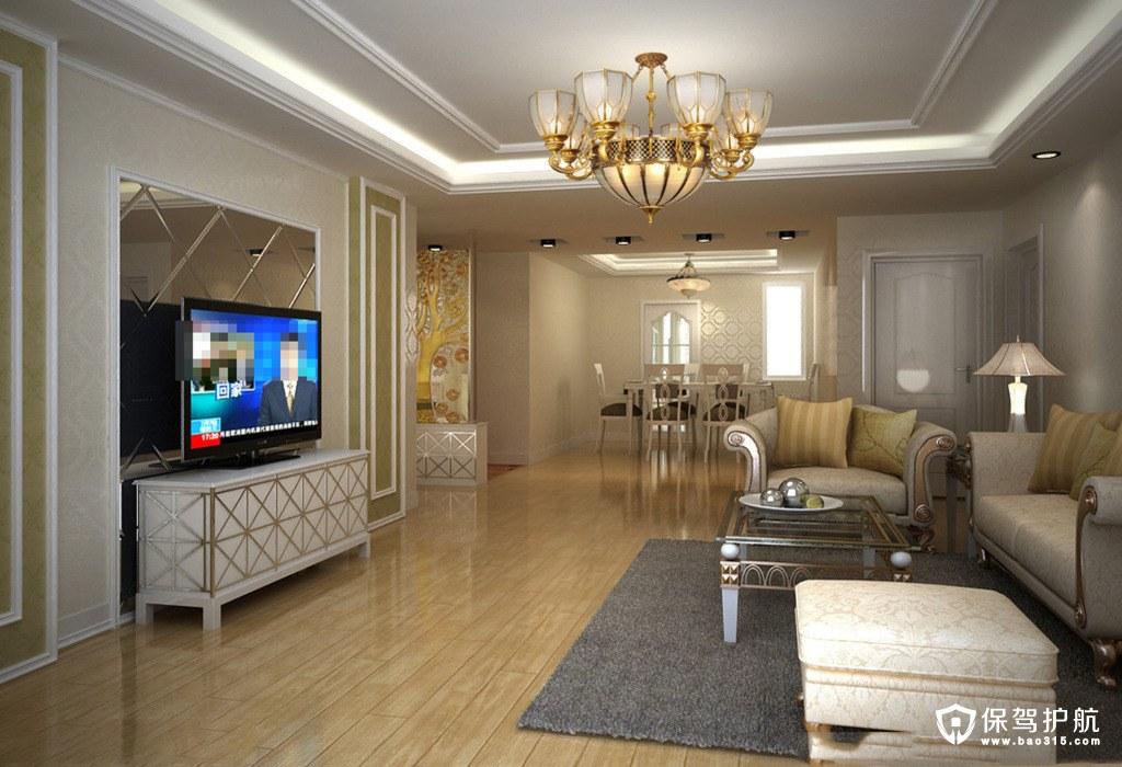 客厅装修吊灯安装位置