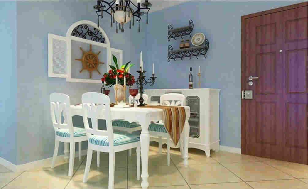 浅色餐厅家具