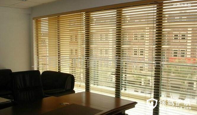 办公室窗帘装修效果图欣赏