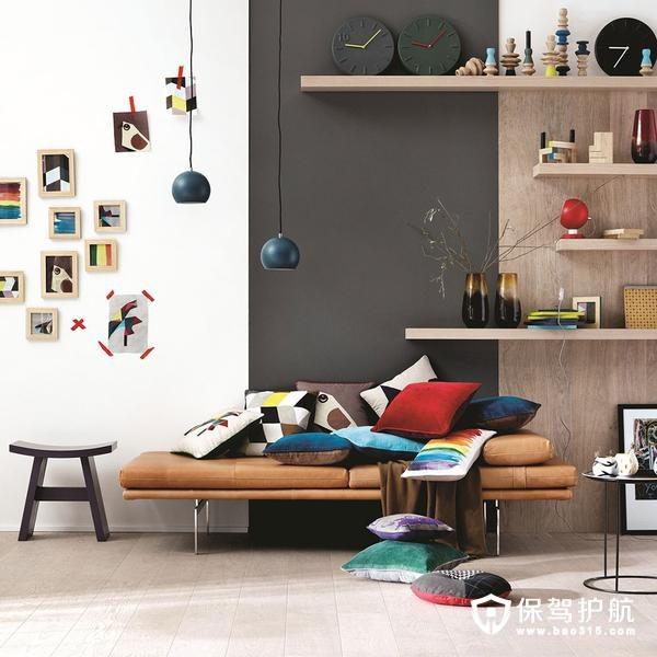家居客厅一角阅读空间设计案例