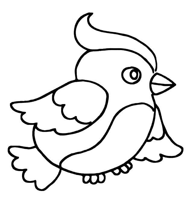 动物简笔画绘画怎么画