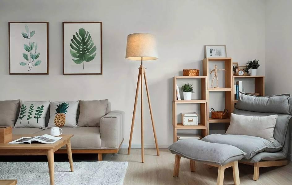 旧房改造:搭配原木与绿色 换来一个全新的家