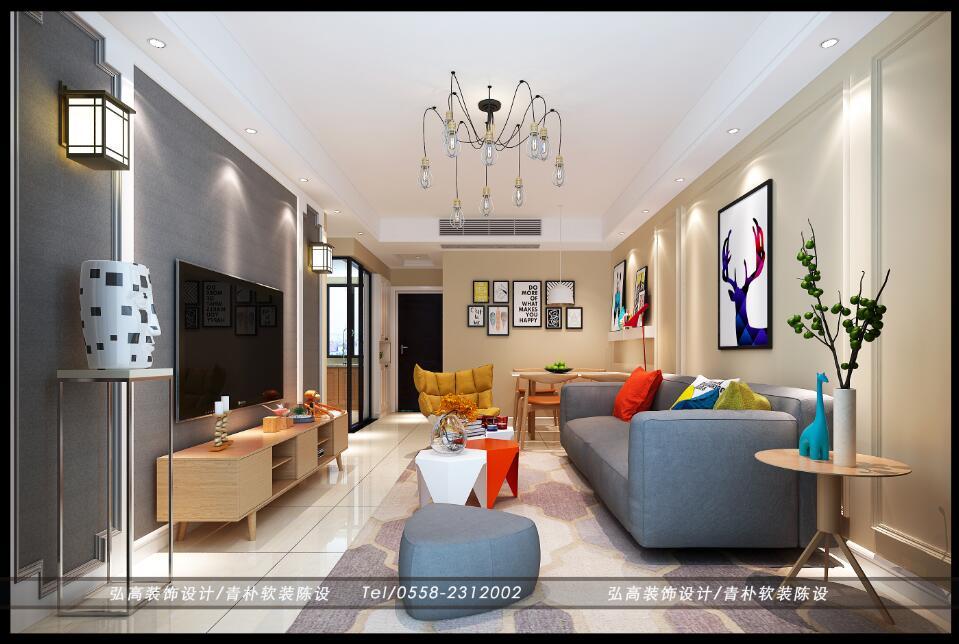 天瑞名城室内设计案例