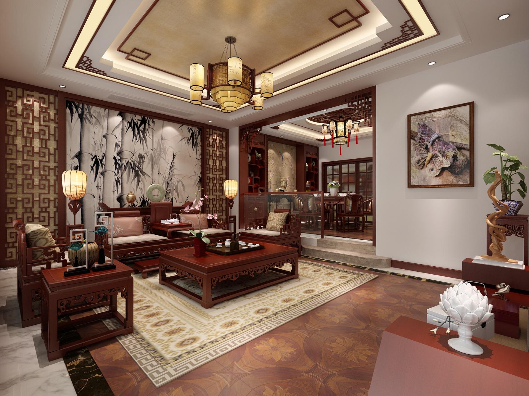北京雅腾装饰-森林湖设计案例效果图