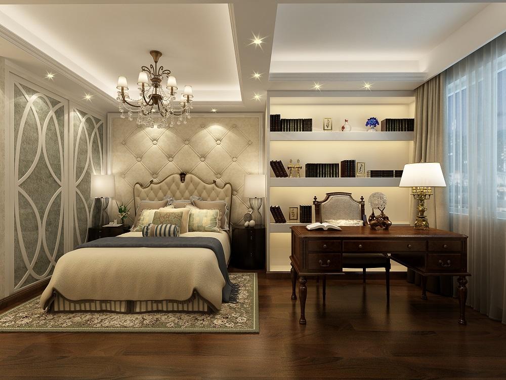 苏州雅腾装饰  太湖汇景189平欧式风格案例设计效果图