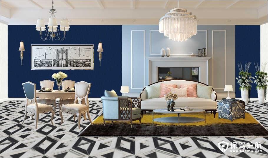 随意搭配我的家,也能装出时尚大方美客厅