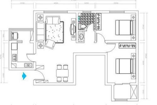 两房一厅都有哪些常见户型?