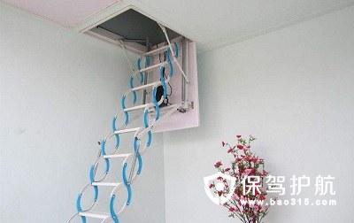 如何安装阁楼升降梯