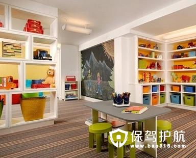 儿童书房在装修设计的时候有很多讲究