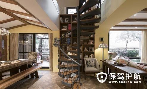首页 装修百科 设计百科 户型 楼中楼       其次,可以选择直角楼梯