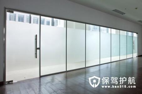 b,钢框玻璃隔断(有钢框油漆饰面和钢框不锈钢板饰面之分):260—3