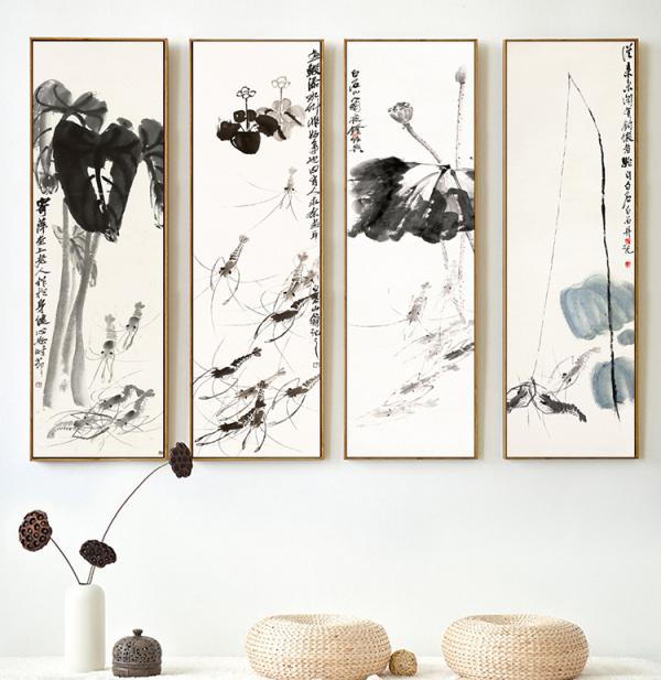 【艺设计】你会在你的家中用国画来装饰吗?