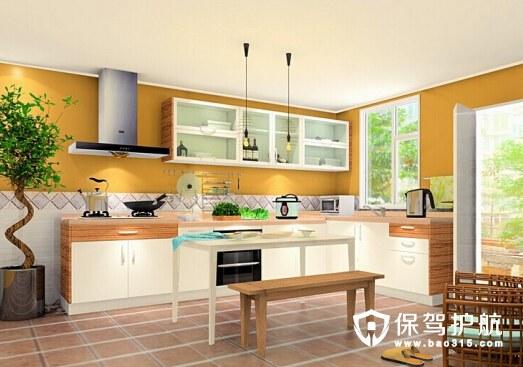 如何装修L型厨房