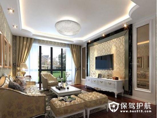 五个客厅装修设计推荐