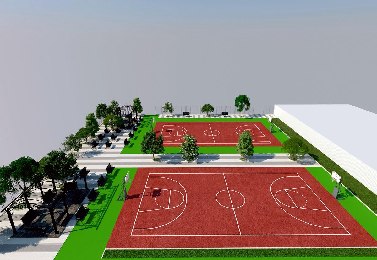 篮球厂建设