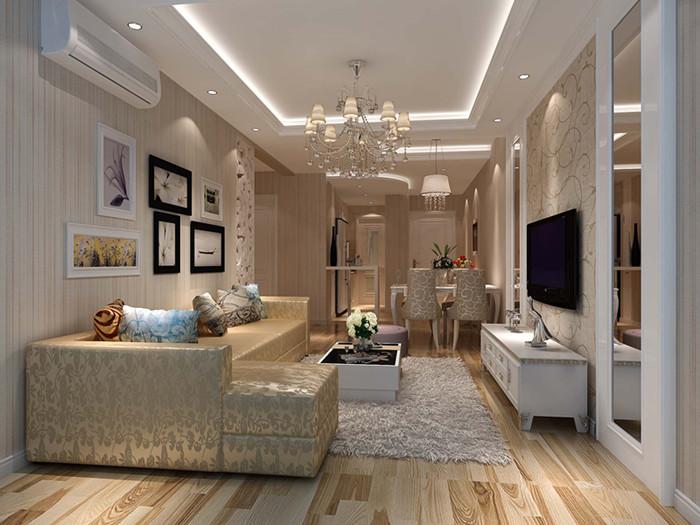 典雅欧式风格二居室