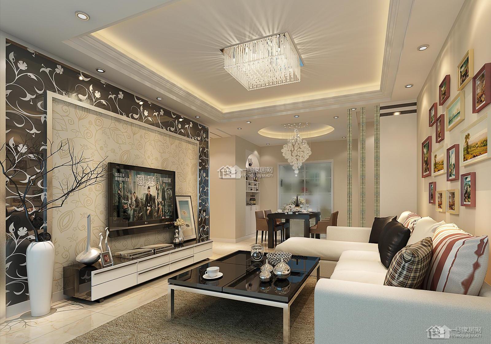 万达华府精装现代简约16万三房二厅