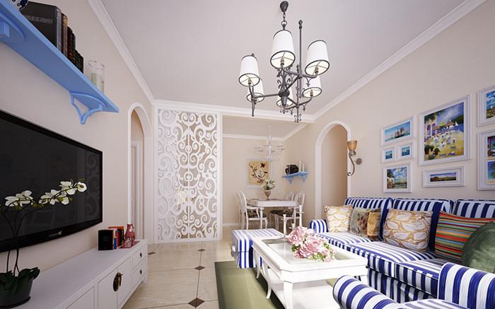 浪漫地中海二居室