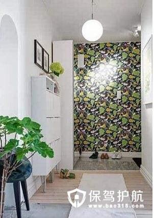 玄关植物墙有什么作用,有什么注意事项。