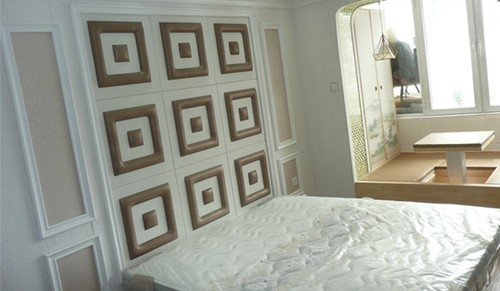 我用集成墙材给儿子装修婚房