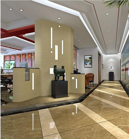 2017现代办公室装修风格效果图大全