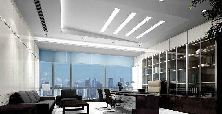 银泰中心500平米办公室装修