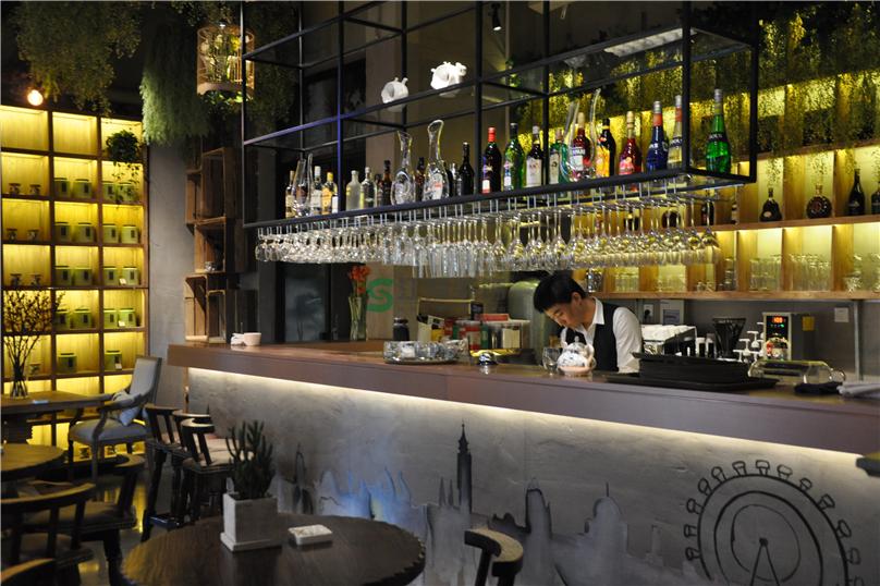 600平米咖啡厅装修设计