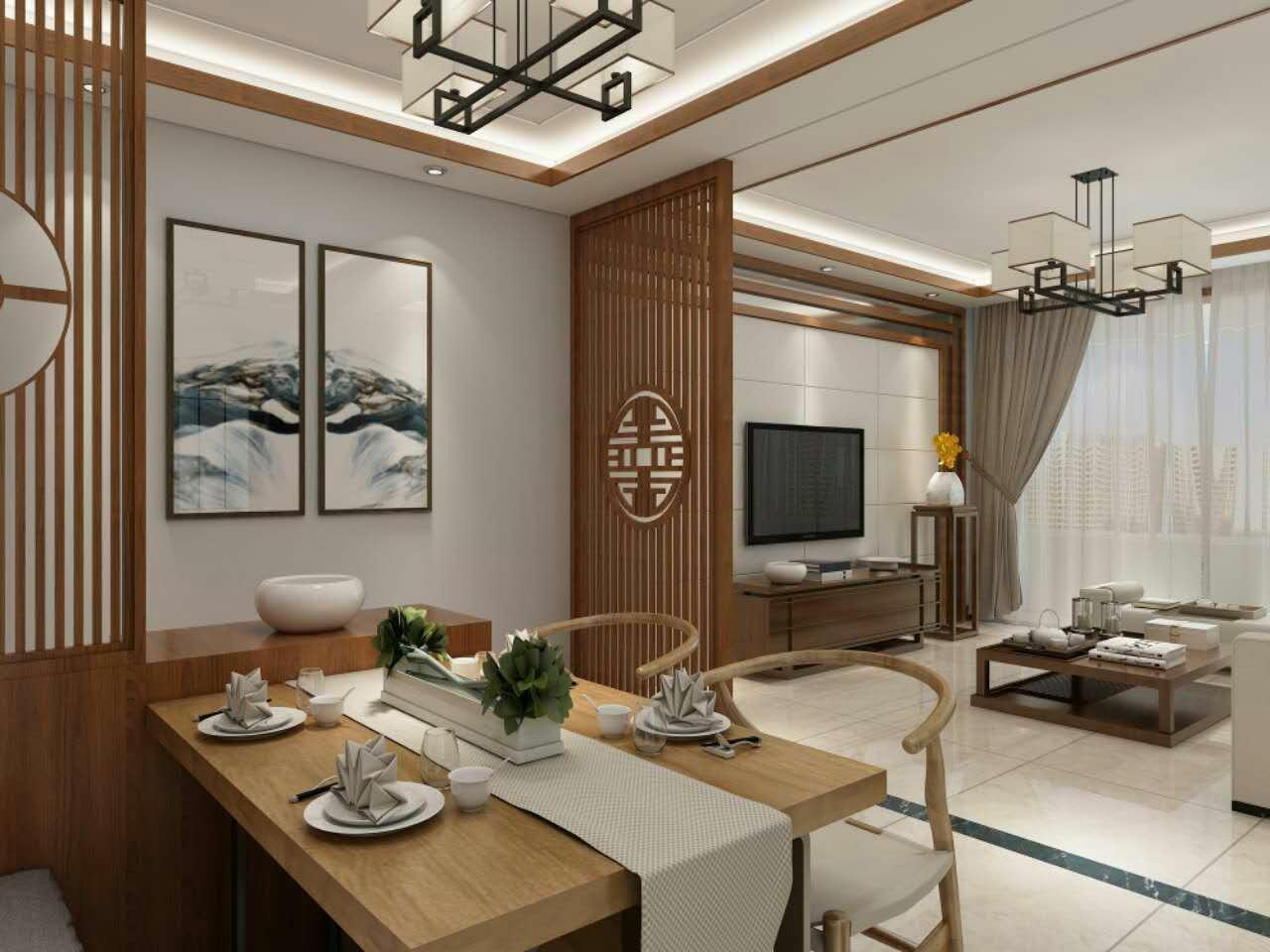 新中式设计 天威绿谷