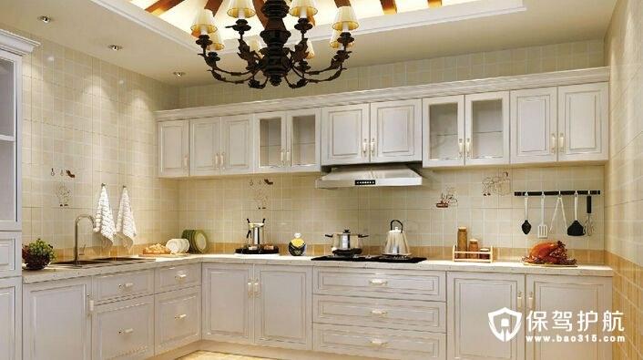 厨房墙砖怎么铺贴