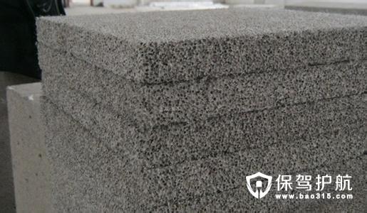 发泡水泥的应用范围