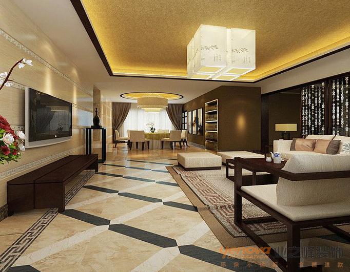 振业城四居室179平米装修设计效果图