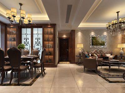 欧式古典风格客餐厅效果图2.jpg